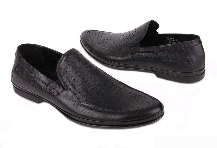 модельные мужские туфли: